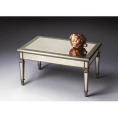 Butler Masterpiece Cocktail Table in Distressed Mirror