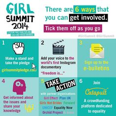 Girl Summit - 6 Ways that you can get involved | by DFID - UK Department for International Development