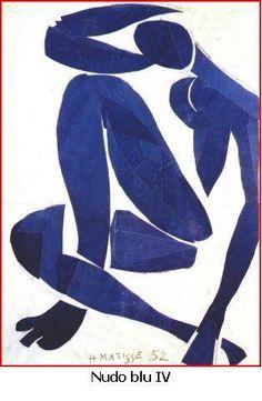 Nudo blu, Matisse, 1952 (museo Matisse a Nizza)