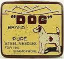 '' Dog'' Brand Needles Tin