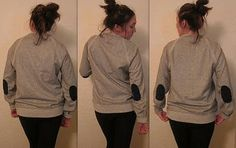 DIY Clothes Patching  : DIY: Elbow Patches