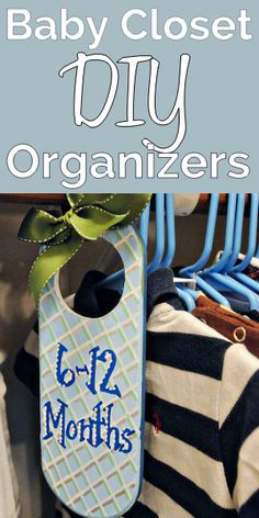 Baby Closet Dividers - good steps on site-Kristin
