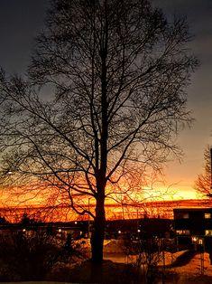 Sunset at Barkåker/Norway