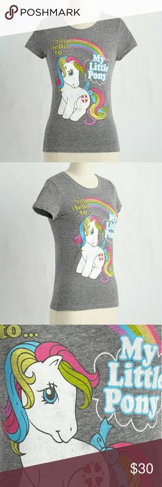Spotted while shopping on Poshmark: My Little Pony Tee! #poshmark #fashion #shopping #style #ModCloth #Tops
