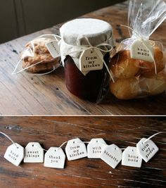 Kylie Johnson (of Paper Boat Press) interview. I love these clay tags for special homemade goodies.