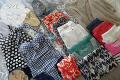 the how-to: pack for a tropical vacation - shopping's my cardio