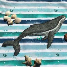 Ebook Hoodie Hudie in Gr. Whale, Beide, Hoodies, Pattern, Animals, Products, Humpback Whale, Beautiful Figure, Sewing Appliques