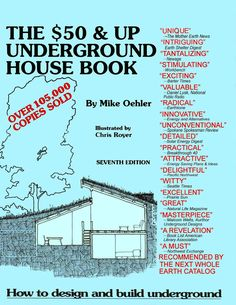 $50 and Up Underground House Book – Underground Housing and Shelter