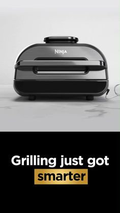 Grill up to 50% more food than the original Ninja® Foodi™ Grill. The Ninja® Foodi™ Smart XL Grill lets you cook to your perfect doneness level with the touch of a button. Buy now. New Kitchen Gadgets, Kitchen Hacks, Kitchen Tools, Grilling The Perfect Steak, Cool Gadgets To Buy, Alcohol Drink Recipes, Indoor Grill, Modern Tech, Food Decoration