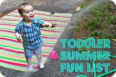 Babies, Books, and Beyond: Toddler Summer Activities Fun List