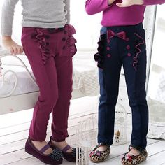 New Style Baby Casual Bow Long Pants for Girls Spring Autumn Pencil Trousers,High Quality pants germany,China pants jacket Suppliers, Cheap pants blue from Kids Fashion Clothing - Worldwide Wholesale  on Aliexpress.com