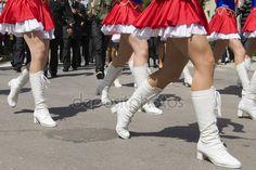 Parady uliczne dziewczyny — Zdjęcie stockowe © arkadiuszkomski #25164671
