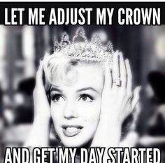 Haha my parents call me the princess for a reason . And I love Marilyn www.thepageantplanet.com