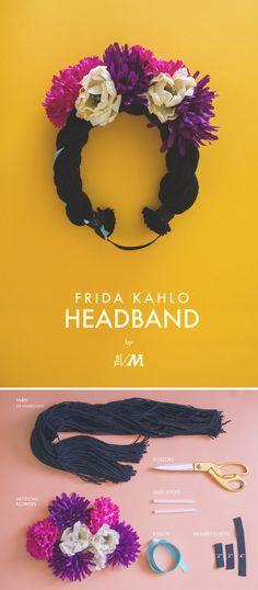 Frida Kahlo Headband halloween halloween pictures halloween crafts halloween…