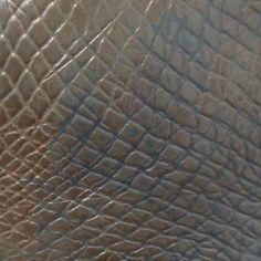 pattern pressed in plaster