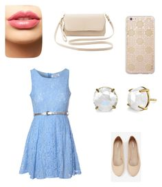 """""""Casual Lunch Date"""" by mitchieanne21 on Polyvore featuring beauty, Glamorous, Express, Charlotte Russe, LASplash and Sonix"""