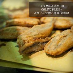 cucina italiana | alici ripiene | alici imbottite | gnam | piatti italiani | piatti tipici Cooking Together, Meat, Chicken, Food, Essen, Meals, Yemek, Eten, Cubs