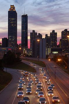 Atlanta, GA-Cool place to visit but bad place to drive through and HORRIBLE place to fly through!