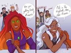 Allura vs Starfire Voltron Teen Titans Crossover<<I didn't realize how much I needed this until now. Now all I can think of is Allura and Starfire best buds Voltron Memes, Voltron Comics, Voltron Fanart, Form Voltron, Voltron Ships, Voltron Klance, Voltron Allura, Teen Titans Fanart, Teen Titans Go