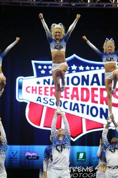Jamie Andries on Cheer Athletics Cheer Pictures, Cheer Pics, Cheer Athletics Cheetahs, Famous Cheerleaders, Cool Cheer Stunts, Cheer Quotes, Cheerleading Bows, Cheer Outfits, Cheer Hair