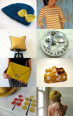 Mustard by Cindy Brockway on Etsy--Pinned with TreasuryPin.com