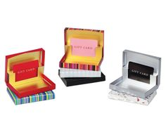Pop-Up Gift Card Box