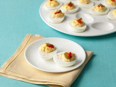Traditional Southern Deviled Eggs from FoodNetwork.com