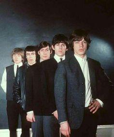Brian Jones, Bill Wyman, Charlie Watts, Keith Richards, Mick Jagger