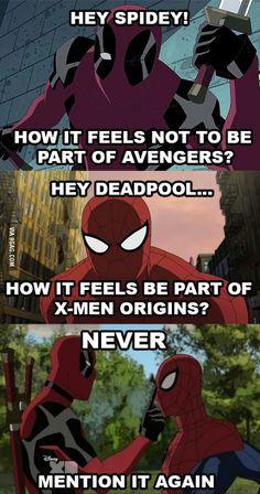 Poor Deadpool...