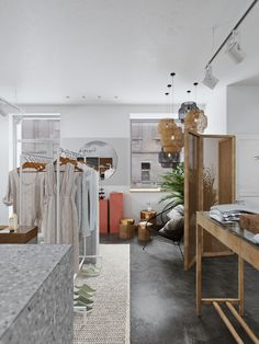 Boutique Interior, Small Apartment Design, Small Apartments, House Of Chic, Artist Project, Retail Space, Visual Merchandising, Store Design, Lady Gaga