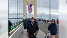 A Marine veteran walked over 800 miles in 42 days for veteran suicide awareness Hispanic American, American Teen, Asian American, Military Veterans, Vietnam Veterans, Teen Mental Health, Mental Health Treatment, Gulliver's Travels, American Psychological Association