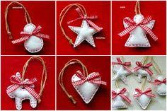 Výsledok vyhľadávania obrázkov pre dopyt vianočne ozdoby z filcu obrazky