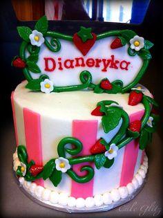 Strawberry Shortcake Cake Strawberry Shortcake Birthday, Birthday Cake, Cakes, Desserts, Recipes, Food, Tailgate Desserts, Deserts, Cake Makers
