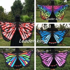 Modal Scarf - Swallow Tail Butterflies by VIDA VIDA E9FBdEo1N