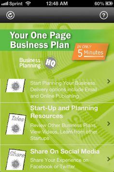 5min business plan app