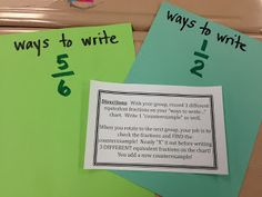 Fractions Day 12:  More work with equivalent fractions and higher level thinking!
