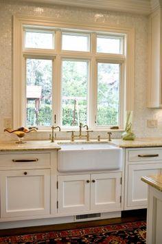 Windows over sink