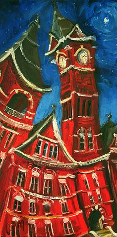 """Dancing Samford"" at Auburn University by Carole Foret"