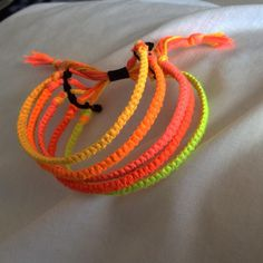 #pink#yellow?#orange?#yellow#orange#black#bracelet#jewlery #hashtag#art#artist #neon #adjustablebracelet