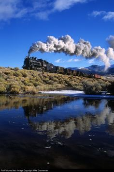 Net Photo: NN 93 Nevada Northern Railway Steam at East Ely, Nevada by Mike Danneman Train Vacations, Train Trip, South African Railways, Old Trains, Vintage Trains, Mystery Train, Rail Car, Train Pictures, Steam Locomotive