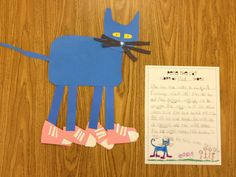 pete the cat halloween craft - Google Search