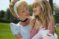 Disneyland Park, Fantasyland - Cinderella & A Little Girl, Disneyland Paris