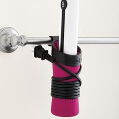 Hot Sleeve Styling Tool Holder...I want to hang a couple of these on the inside of my cabinet door under my sink!