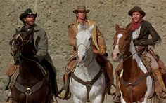 "Kevin Kline, Scott Glenn and Kevin Costner (Silverado) The horse loves him."" sure miss that hat. My head was two years shapin' it. and the pearl handled Colts. Old Western Actors, Western Movies, Westerns, Kevin Kline, Danny Glover, Old Movie Stars, Kevin Costner, Clint Eastwood, Ghost Rider"