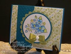 Bordering On Romance by Sandy Murphy - Cards and Paper Crafts at Splitcoaststampers