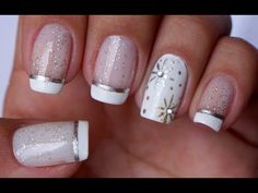 Unhas Decoradas Para o Ano Novo Manual Bela e Simples - YouTube