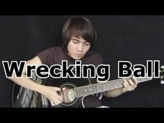 Wrecking Ball - Miley Cyrus (fingerstyle guitar cover)