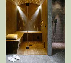 steam room/shower