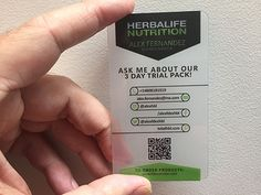 Herbalife Business Cards Business Cards Pinterest Business - Herbalife business card template
