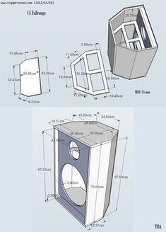 subwoofer box design for 12 inch Car Speaker Box, Dj Speakers, Woofer Speaker, Speaker Plans, Speaker Box Design, Bookshelf Speakers, Audio Amplifier, Built In Speakers, Speaker System
